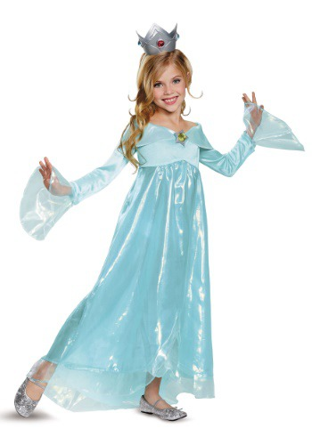 Super Mario Rosalina Deluxe Girls Costume