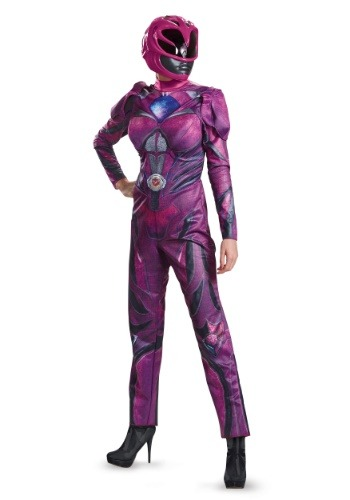 Power Rangers Movie Pink Ranger Deluxe Womens Costume