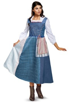 Belle Village Dress Deluxe Adult Costume