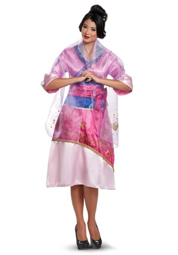 Mulan Adult's Deluxe Costume