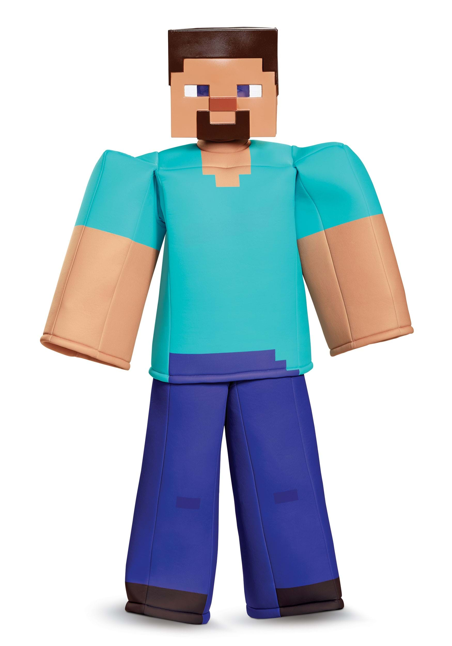 Steve Prestige Costume for Boys from Minecraft