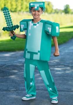 Minecraft Armor Deluxe Child Costume Alt 1