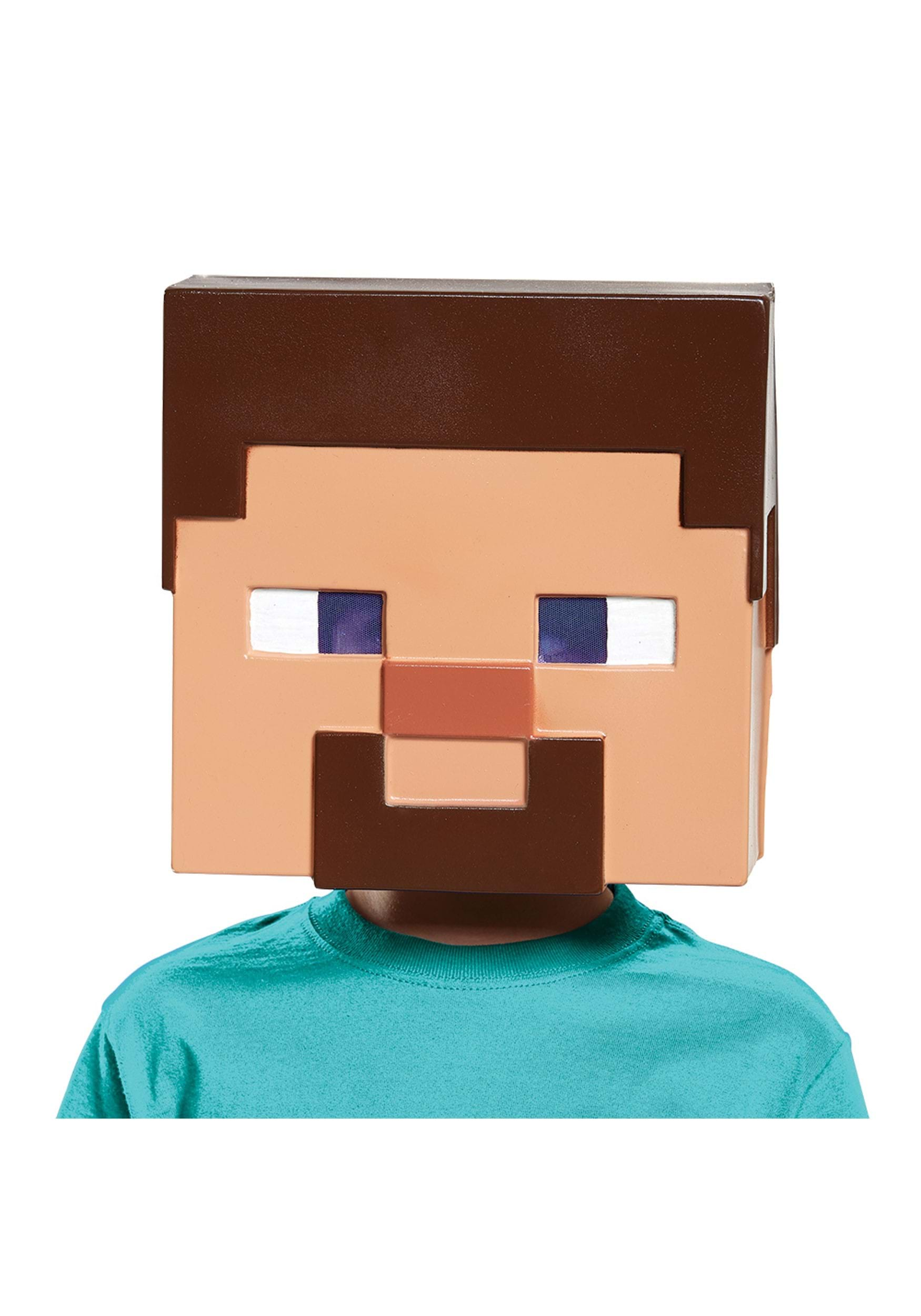 Minecraft Vacuform Steve Mask