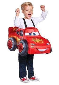 Lightning McQueen 3D Toddler Costume