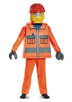 Lego Construction Worker Deluxe Child Costume