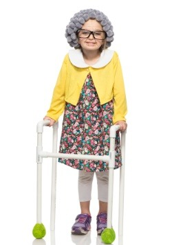 Girls Grandma Costume