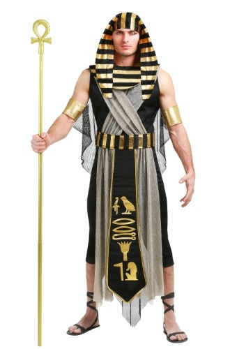 All Powerful Pharaoh Plus Size Men's Costume1