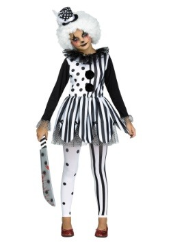 Killer Clown Costume for Girls