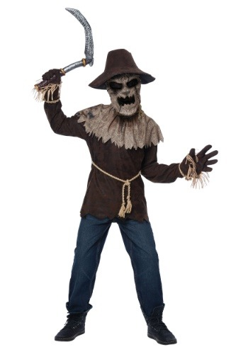 Boys Nightmare Scarecrow Costume