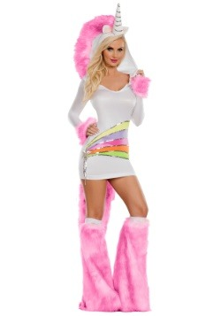 Rainbow Unicorn Costume For Adults