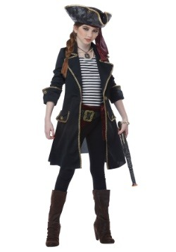 Girls High Seas Captain Costume