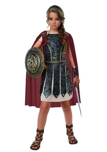 Girls Fearless Gladiator Costume