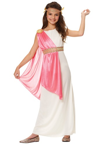 Ancient Roman Empress Girls Costume