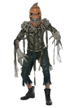 Pumpkin Head Mens Costume