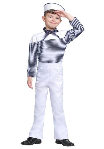 Vintage Boy Sailor Costume