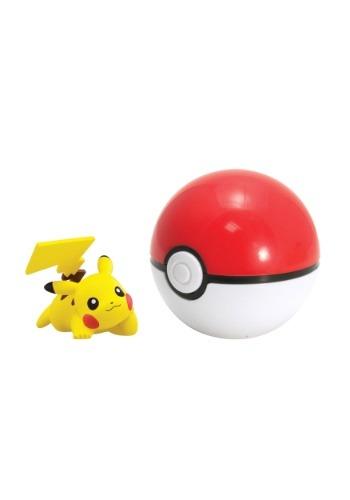 Pikachu + Pokeball