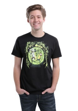 Rick and Morty Portal and the Monsters T-Shirt