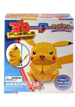 Pokemon Pikachu 3D Puzzle