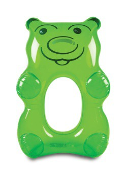 Green Gummy Bear 5ft Pool Float