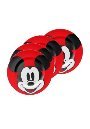 Mickey Mouse Ceramic Salad Plate Set