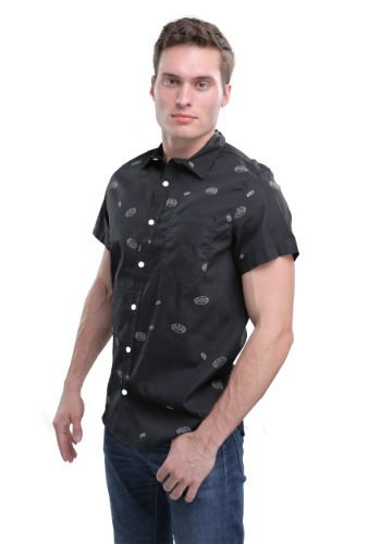 DC Comics Batman Woven Men's Button Down Shirt