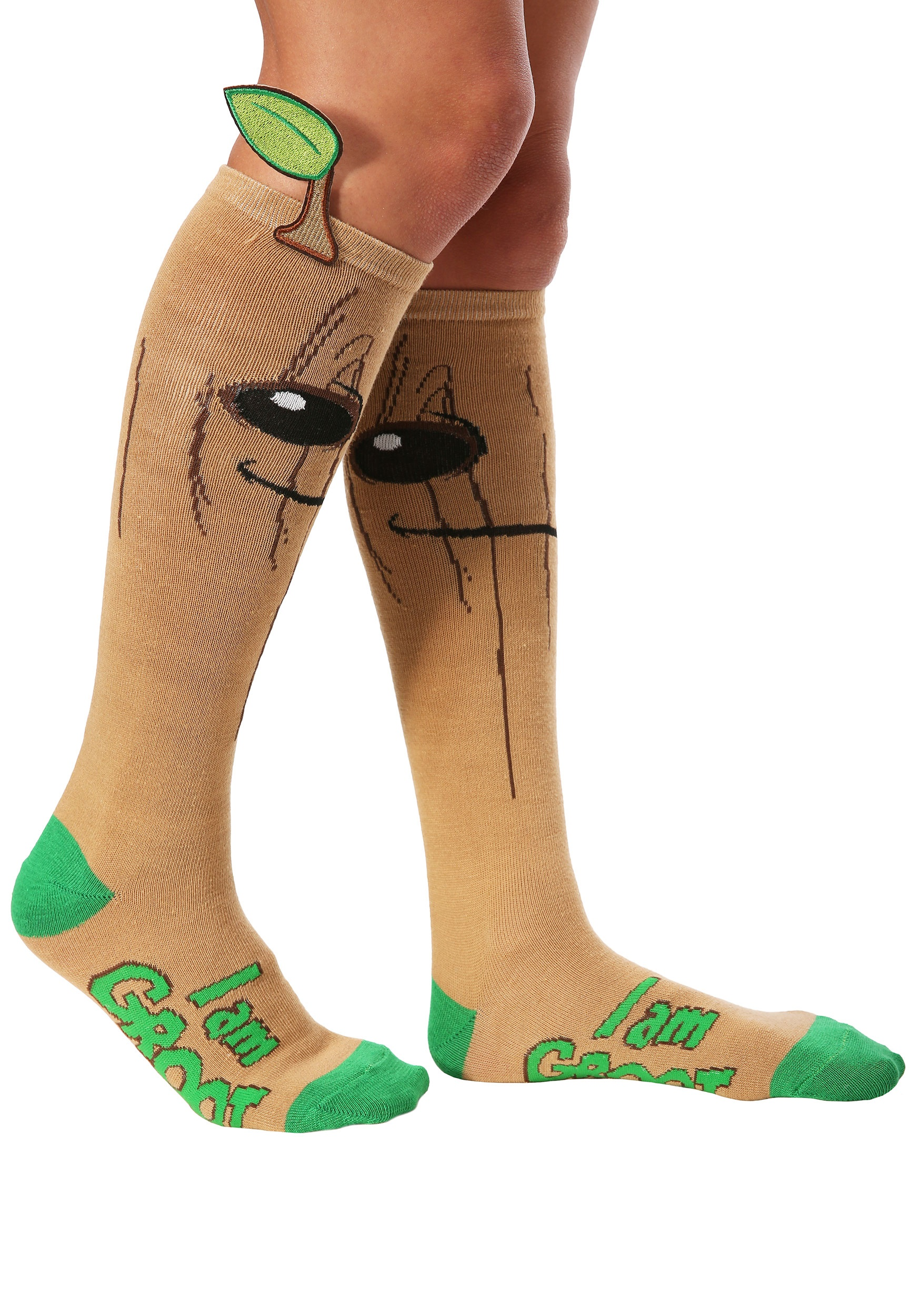 816ee1ba1 I Am Groot Guardians of the Galaxy Knee High Socks