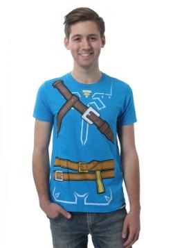 Men's Legend of Zelda Breath of the Wild Costume T-Shirt