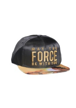 Star Wars Rey Force Satin Snapback Hat