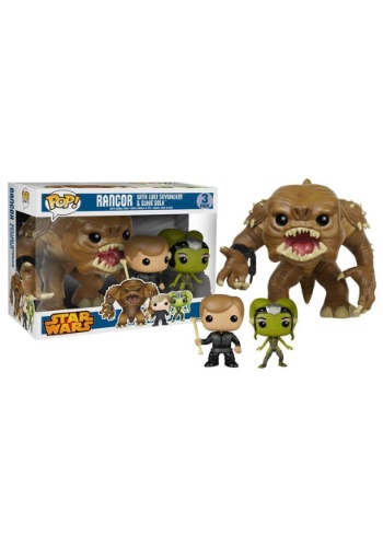 Funko POP Star Wars Rancor w/ Luke & Slave Oola 3