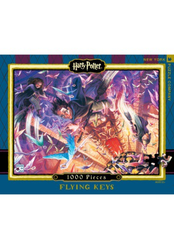 Harry Potter Flying Keys 1000 pc Puzzle