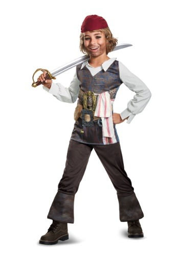 Captain Jack Sparrow Child Classic Costume