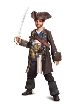 Captain Jack Sparrow Child Prestige Costume