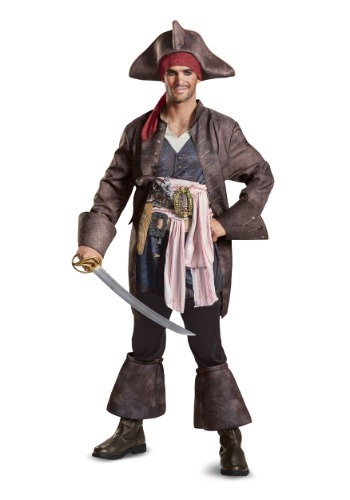 Captain Jack Sparrow Deluxe Adult Costume