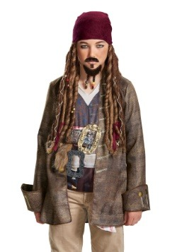 Pirates of the Caribbean Goatee & Mustache Child