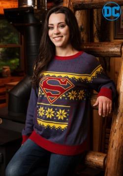 Women's Superman Holiday Sweater