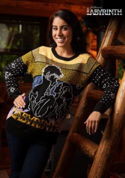 Labyrinth Movie Logo Holiday Sweater