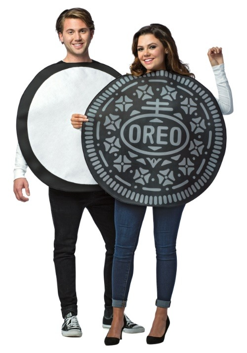 Oreo Cookie Couples Costume For Adults