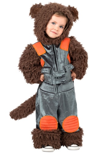 Child Guardians of the Galaxy Raccoon Costume