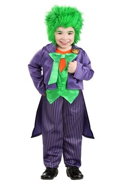 Toddler DC Superhero Joker Costume