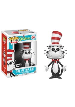 POP Books: Dr. Seuss - Cat in the Hat Vinyl Figure