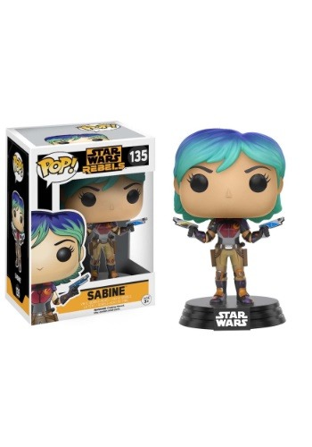 Star Wars Rebels Sabine Wren Bobblehead POP! Vinyl Figure