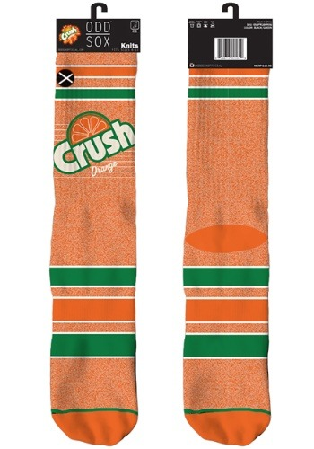 Orange Crush Knit Odd Sox