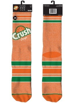 Orange Crush Knit Odd Sox