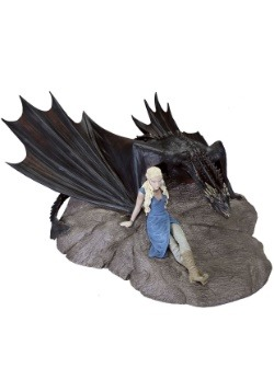 Game of Thrones Daenerys and Drogon Statuette