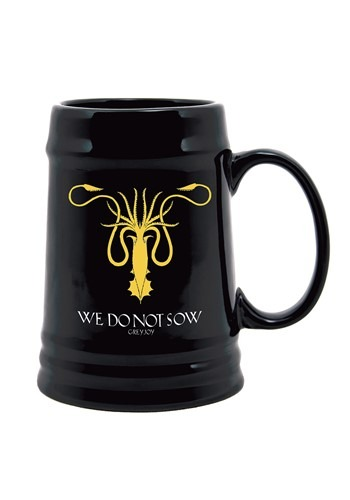 Game of Thrones Greyjoy Sigil Ceramic Stein