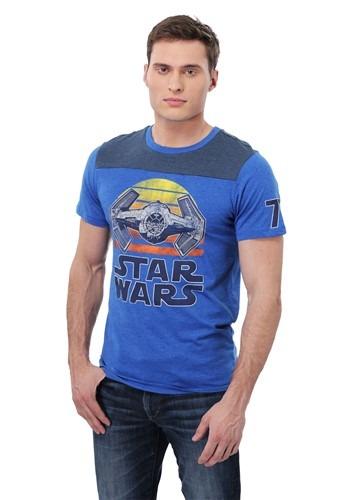 Sunset TIE Fighter Men's T-Shirt