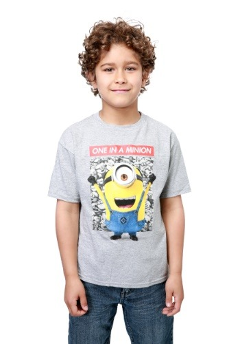Minions One in a Minion Boys T-Shirt