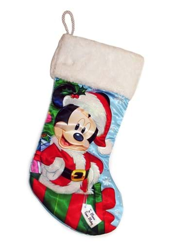"Santa Mickey Mouse 18"" Stocking"