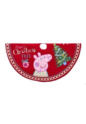"""Peppa Pig 48"""" Printed Tree Skirt"""