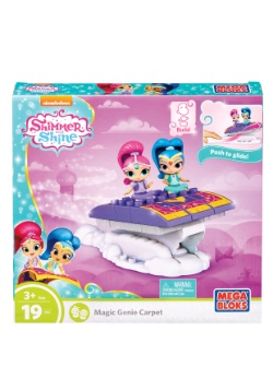 Mega Bloks Shimmer & Shine Magic Genie Carpet Building Set